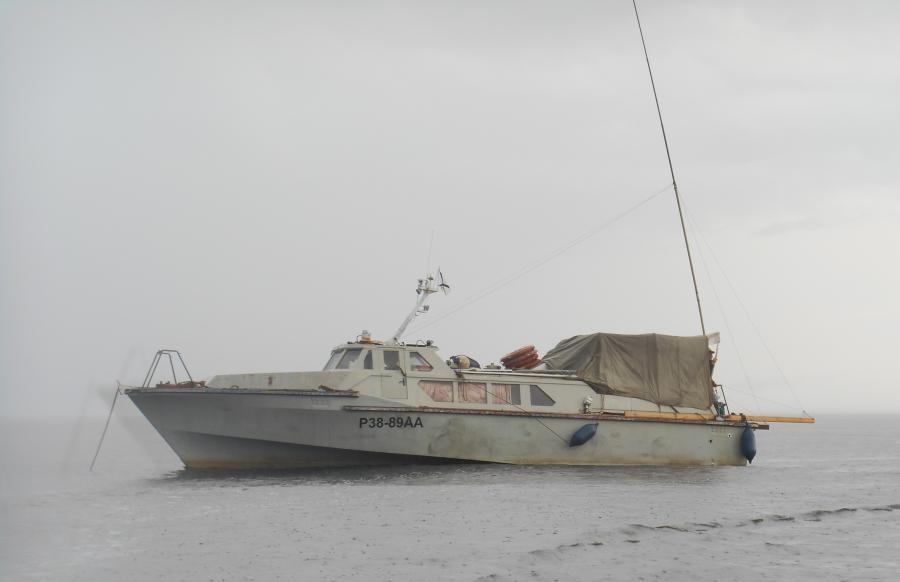 RI1OM Morzhovets Island Ship