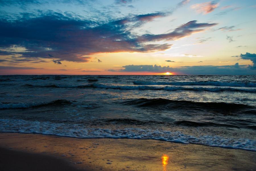 Sunset, Wolin Island SP7IDX/1