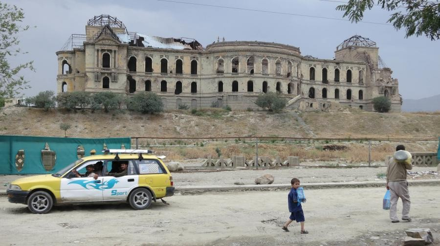 Darul Aman Palace, Kabul, Afghanistan T6/IT9HRK