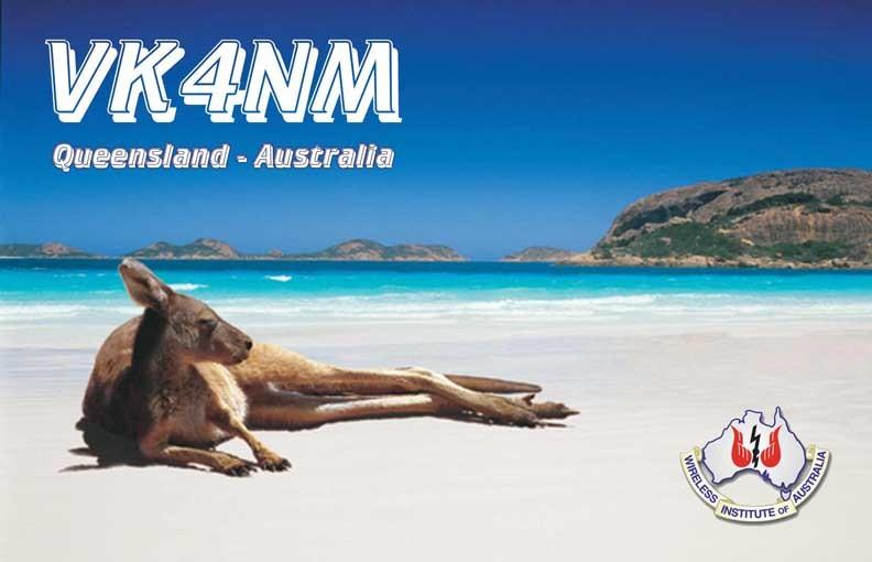 VK4NM Fraser Island, Australia