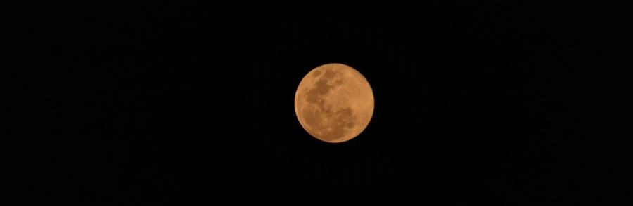 TG9AKH Moon, Guatemala city, Guatemala
