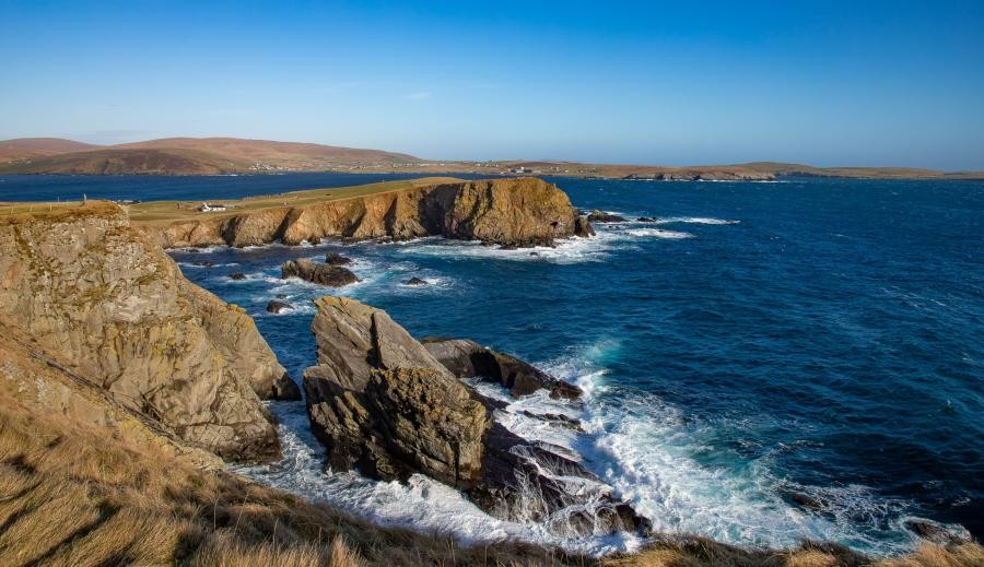 MM0ZAW Levenwick, Shetland Islands