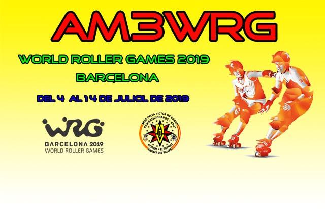 AM3WRG World Roller Games, Barcelona, Spain