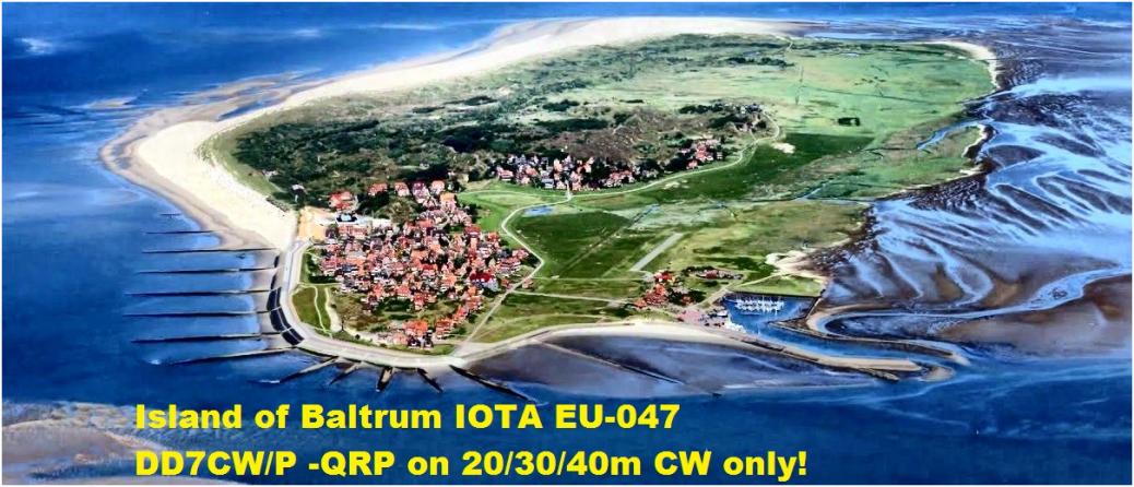 DD7CW/P Baltrum Island, Germany
