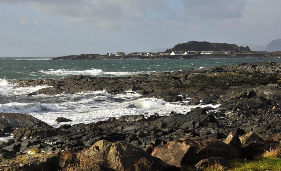 GM/DH5JBR/P Easdale Island, Scotland