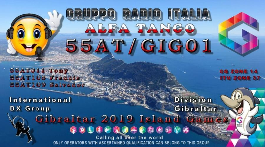 55AT/GIG01 Gibraltar Island Games 2019