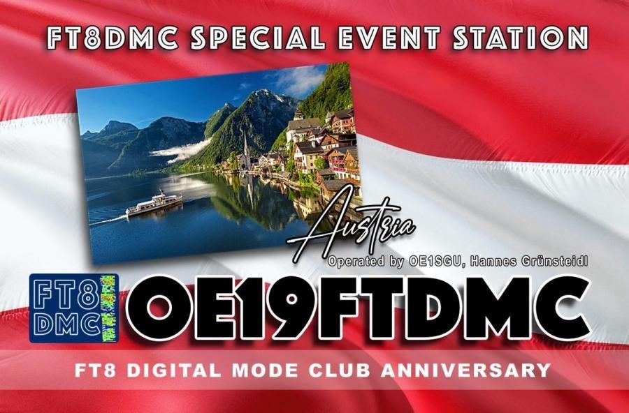 OE19FTDMC Hannes Gruensteidl, Vieena, Austria