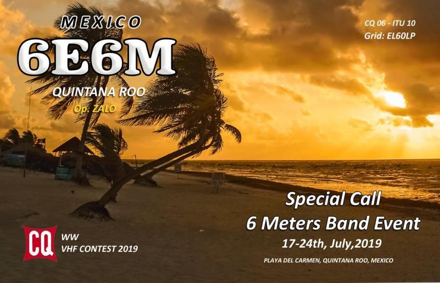 6E6M Gonzalo Lopez Jara, Playa del Carmen, Quintana Roo, Mexico
