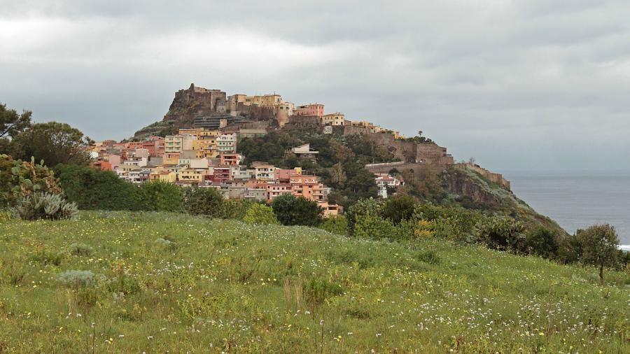 IS0/IU4HRJ Castelsardo, Sardinia Island.