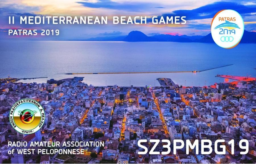 SZ3PMBG19 Patra, Greece Mediterranean Beach Games