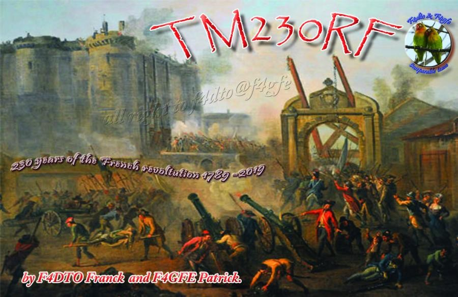 TM230RF French Revolution, Chatillon, France