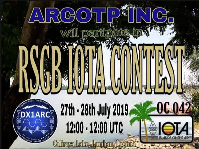 DX1ARC Luzon Island, Philippines