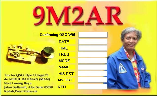 9M2AR Rahman Raof, Alor Setar, Malaysia