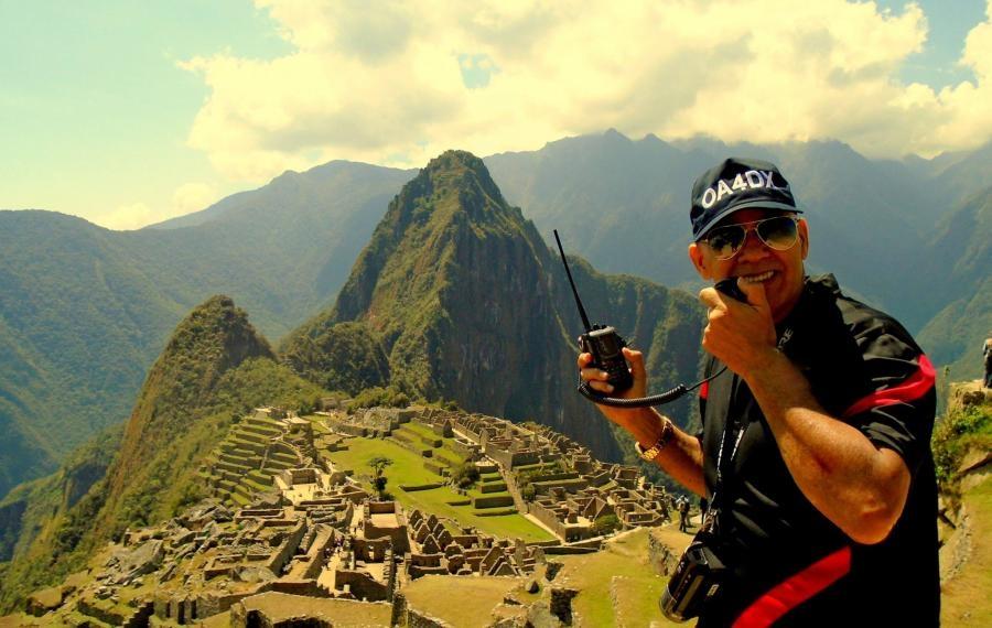 OA4DX Tony Viera Machu Picchu Peru