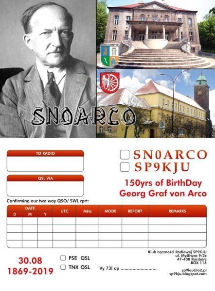 SN0ARCO Raciborz, Poland Georg Graf von Arco