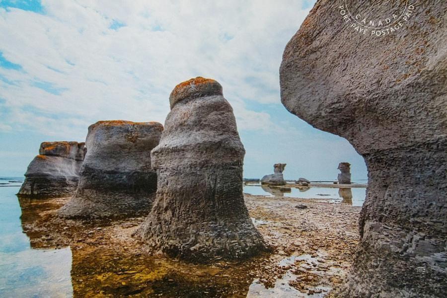 VE2GT/150 Mingan Archipelago National Park Reserve