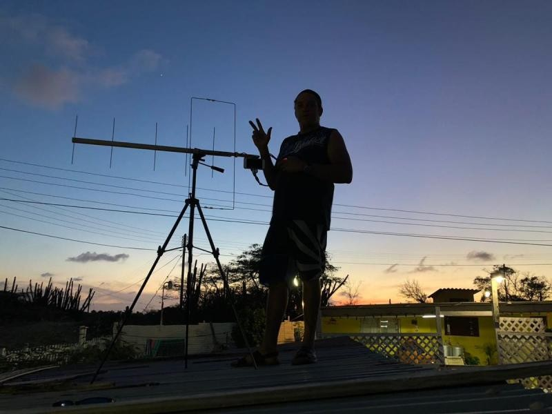 P41E Etienne Chatlein, Santa Cruz, Aruba
