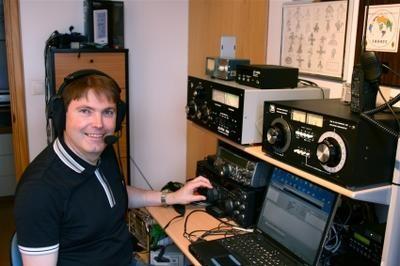 TF3Y Yngvi Hardarson, Reykjavik, Iceland Radio Room Shack
