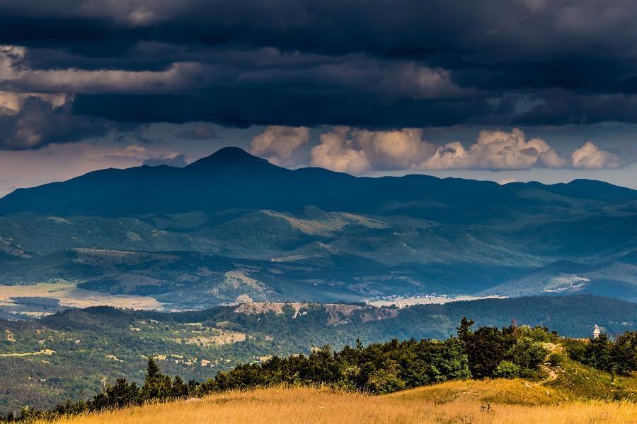 9A/HA3YE Mount Veliki Snežnik, Croatia.