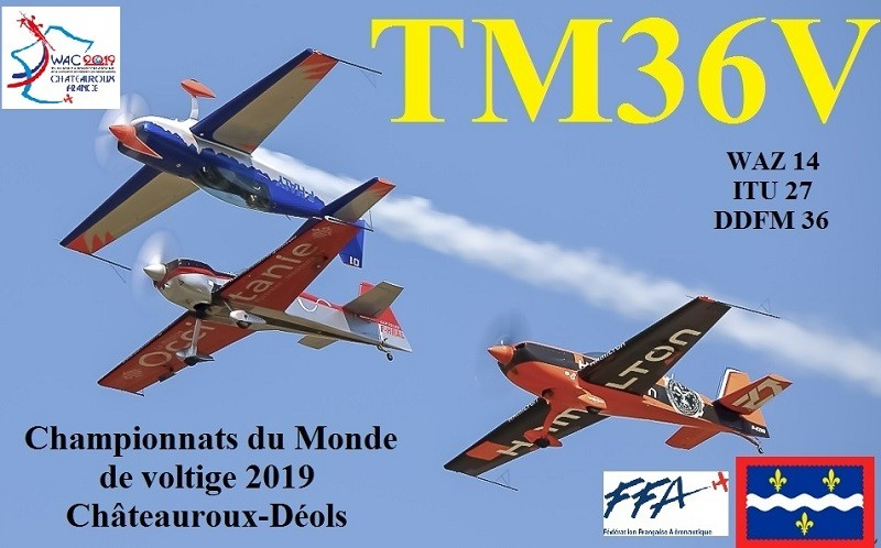 TM36V Neuville, France QSL Card