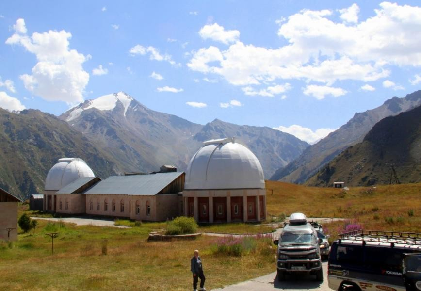 UP5AHF Tien Shan Astronomical Observatory, Kazakhstan