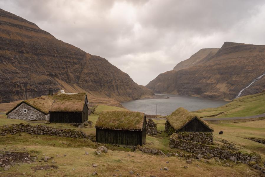 OY/IZ1AZA Saksun Village, Faroe Islands