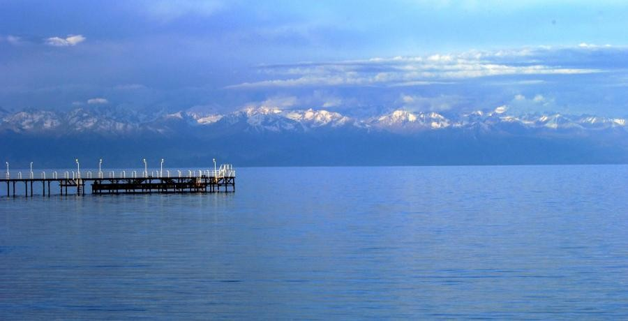 EX0QP Lake Issyk Kul, Kyrgyzstan