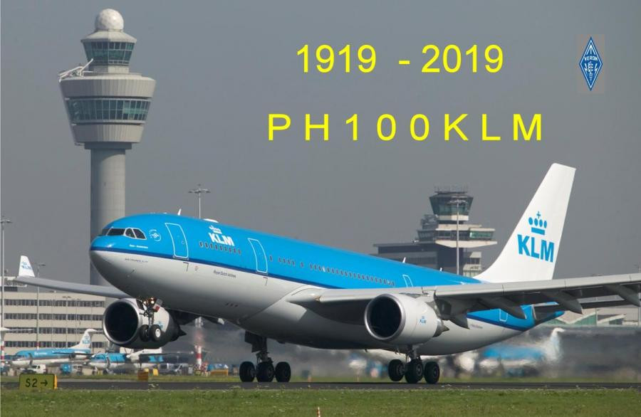 PH100KLM KLM Netherlands 100 years Anniversary