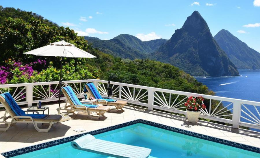 J6/AA4FL Villa Grand Piton, Soufriere, Saint Lucia