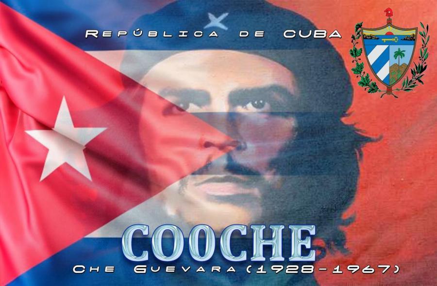 CO0CHE Ernesto Che Guevara, Cuba