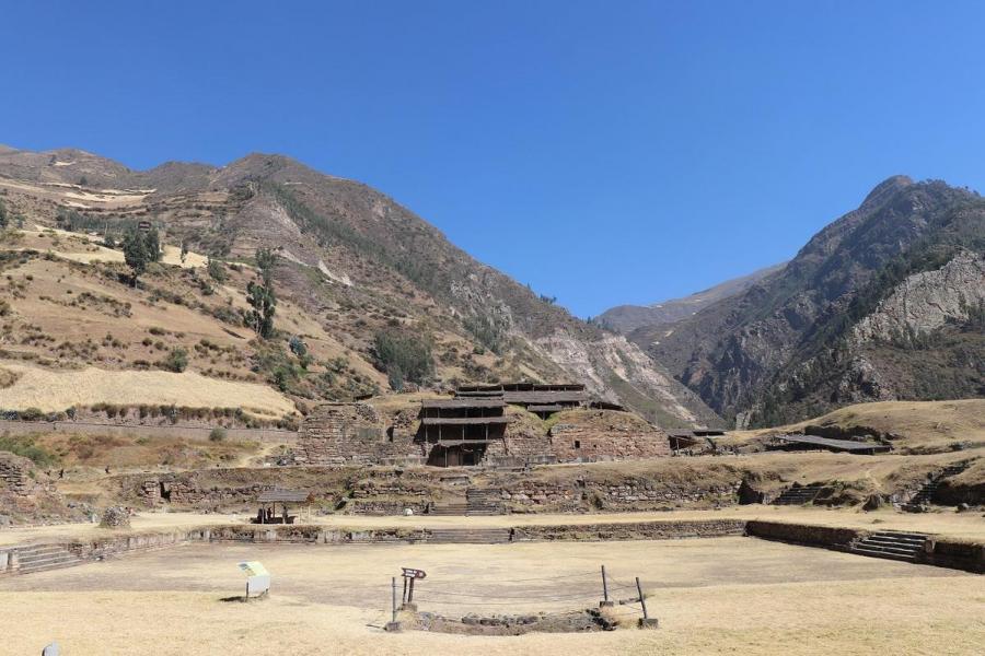OC3CH Zona Arquelogica Monumental, Huaraz, Peru