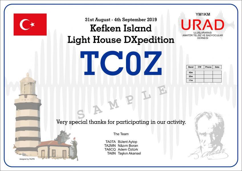 TC0Z Kefken Island, Turkey
