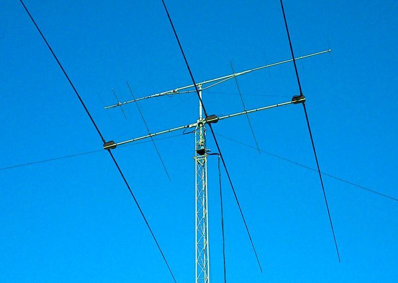 GM3S Whithorn, Scotland Antennas