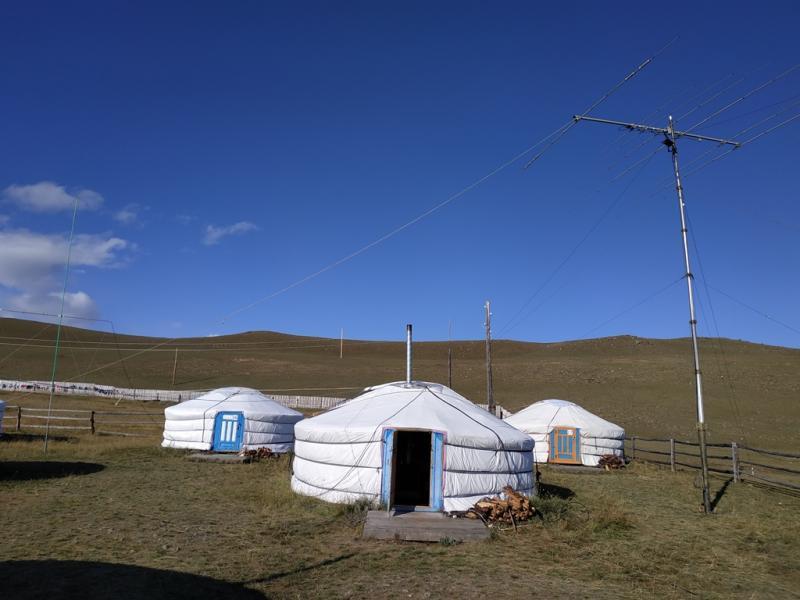 JT7A Khovsgol Nuur National Park, Mongolia. Antenna