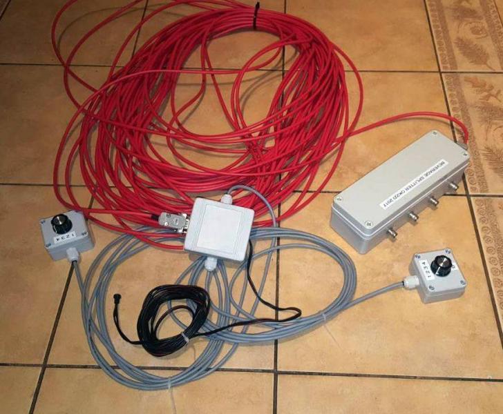 5K0K San Andres Island RX Antenna Ready