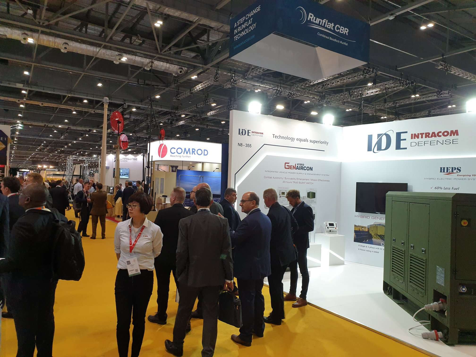 IDE Intracom Defence DSEI 2019 London
