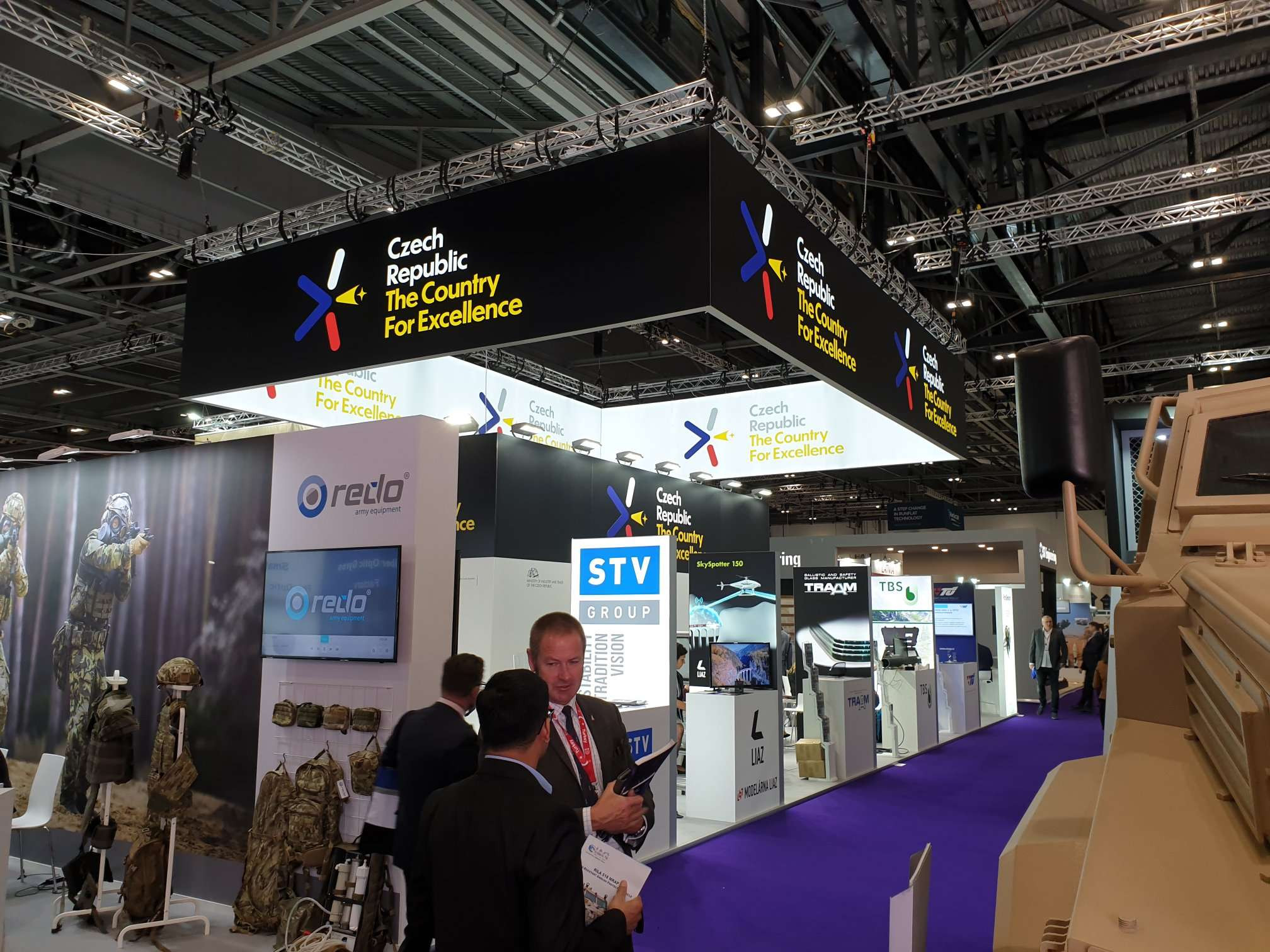 Czech Republic DSEI 2019 London