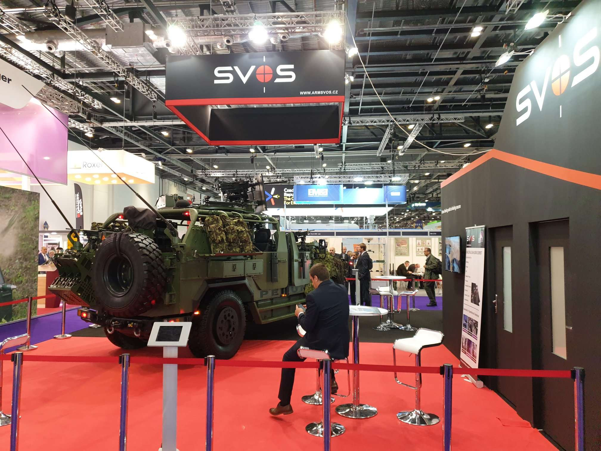 SVOS Czech Republic DSEI 2019 London