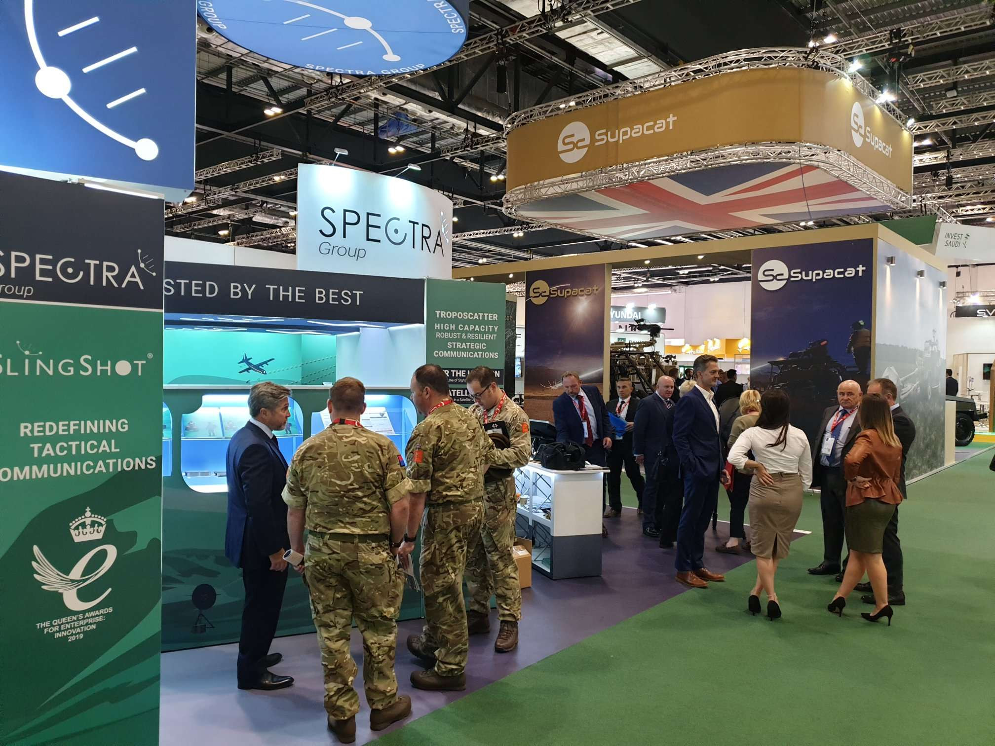 Spectra Group DSEI 2019 London