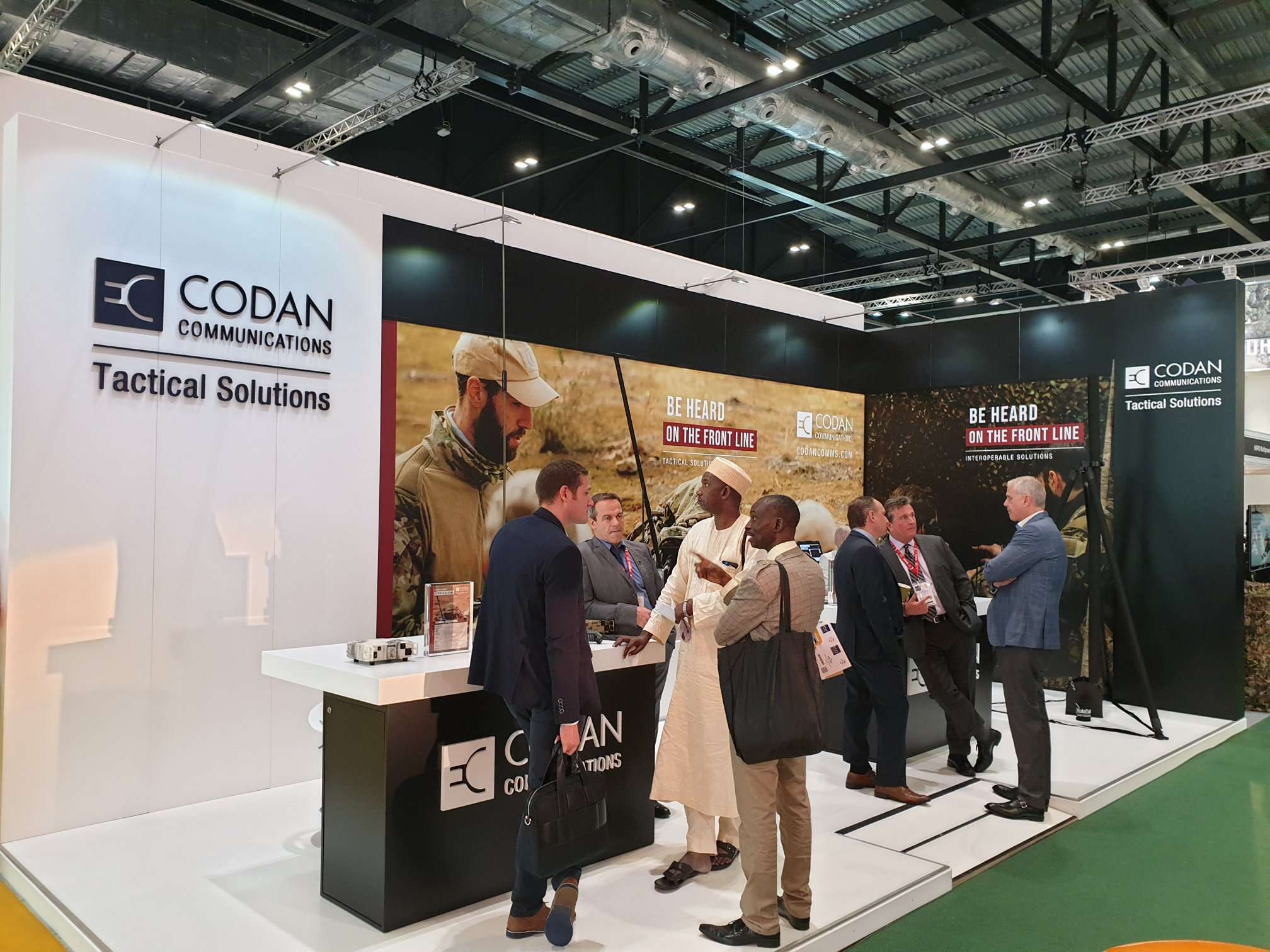 Codan Communications DSEI 2019 London