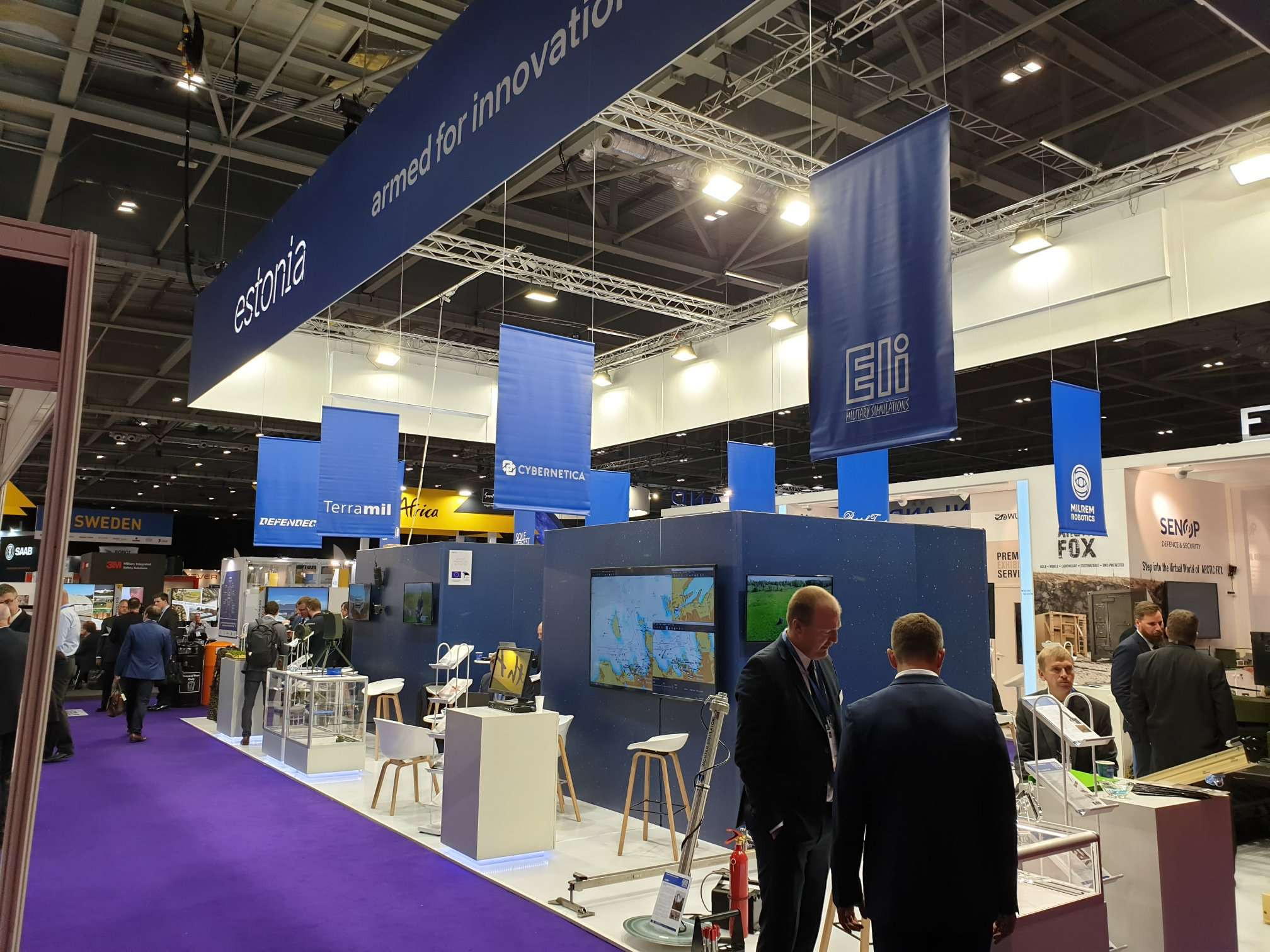 Estonia DSEI 2019 London