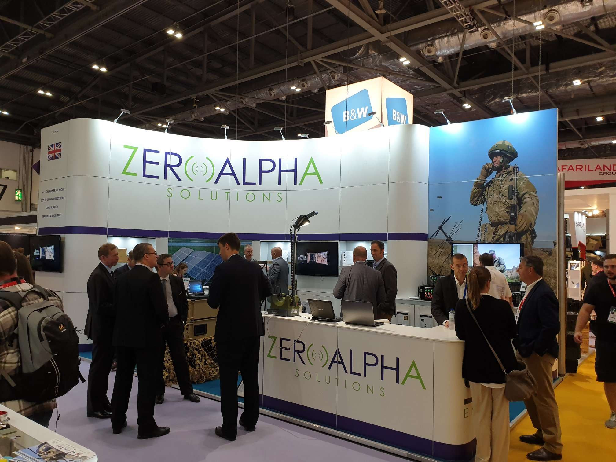 Zero Alpha Solutions DSEI 2019 London