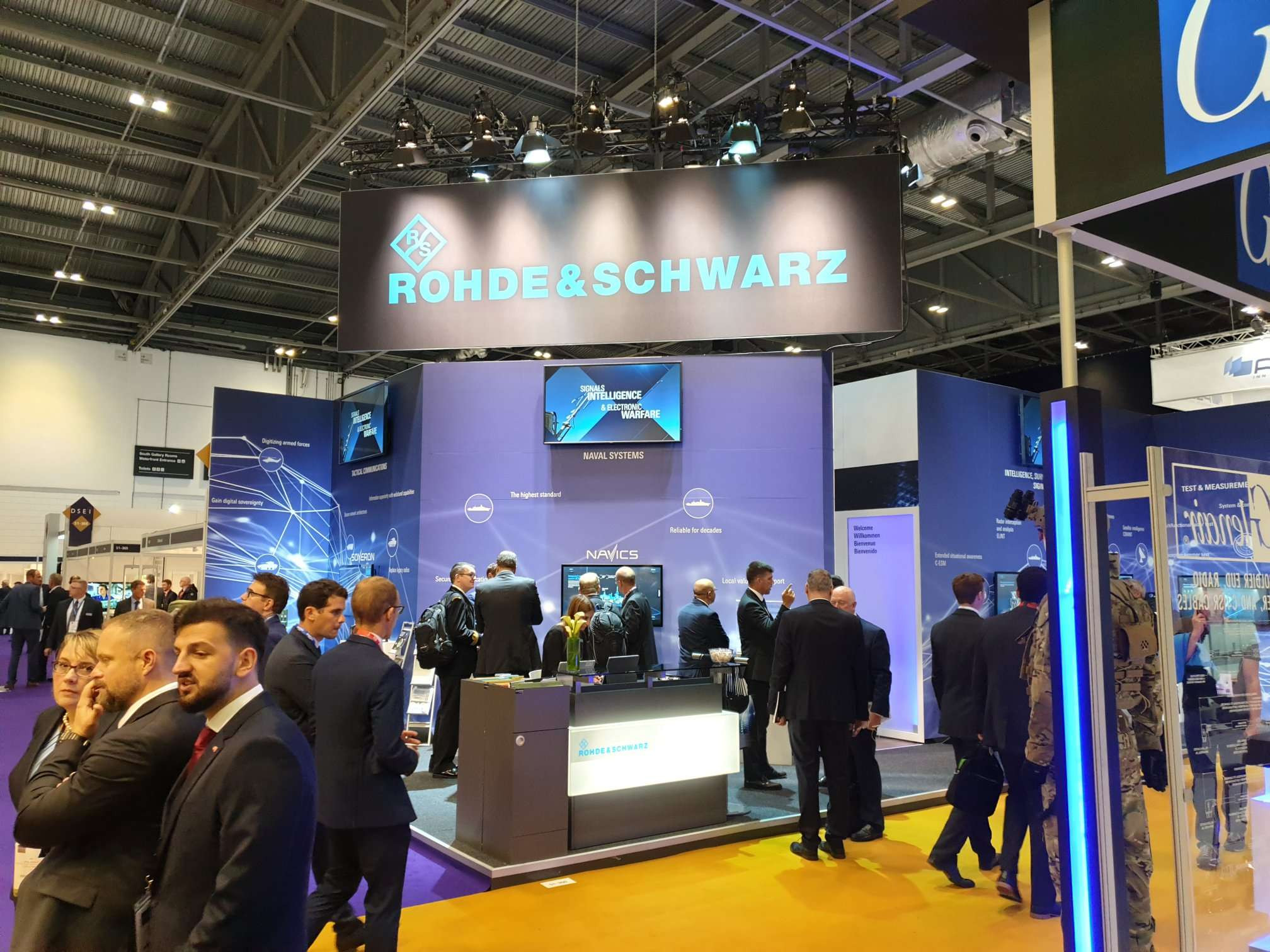 Rohde Schwarz DSEI 2019 London