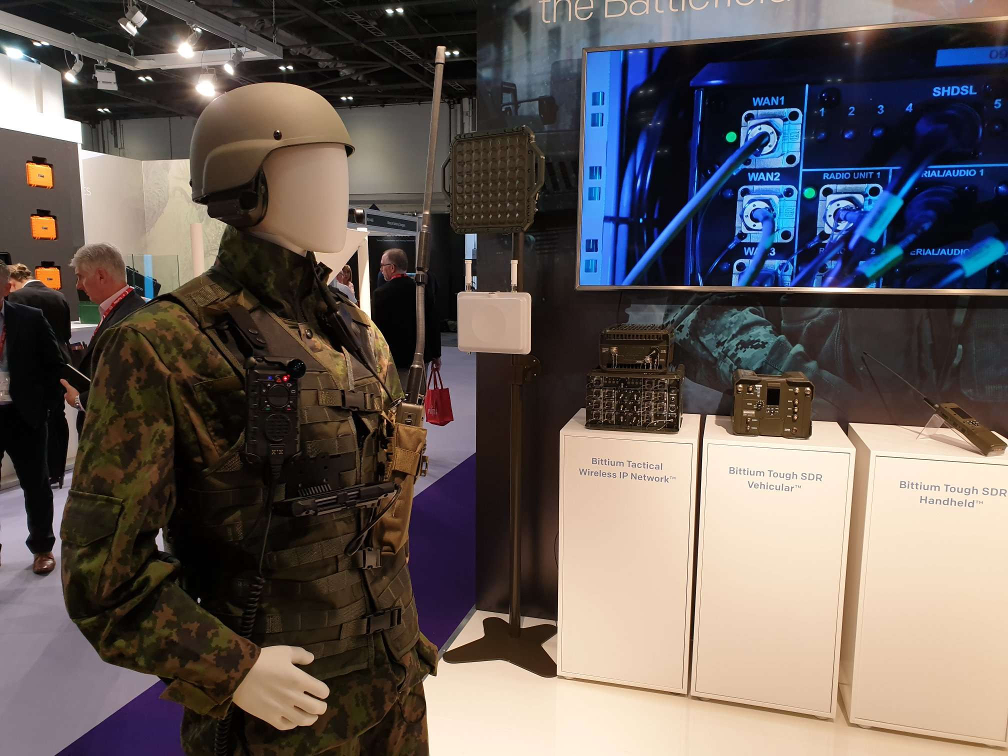 Bittium Tactical Radios DSEI 2019 London