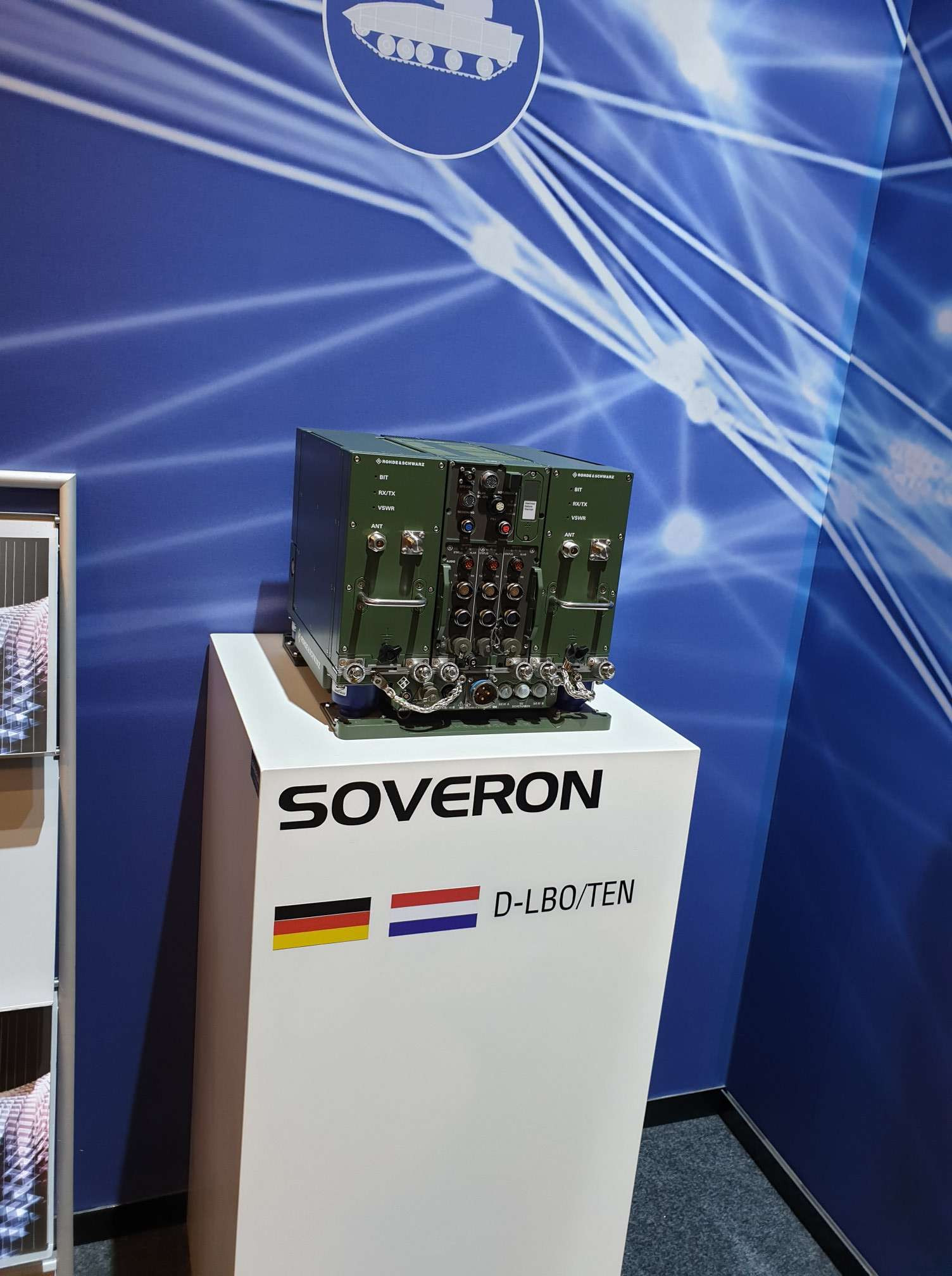 SOVERON Rohde Schwarz Tactical Radio DSEI 2019 London