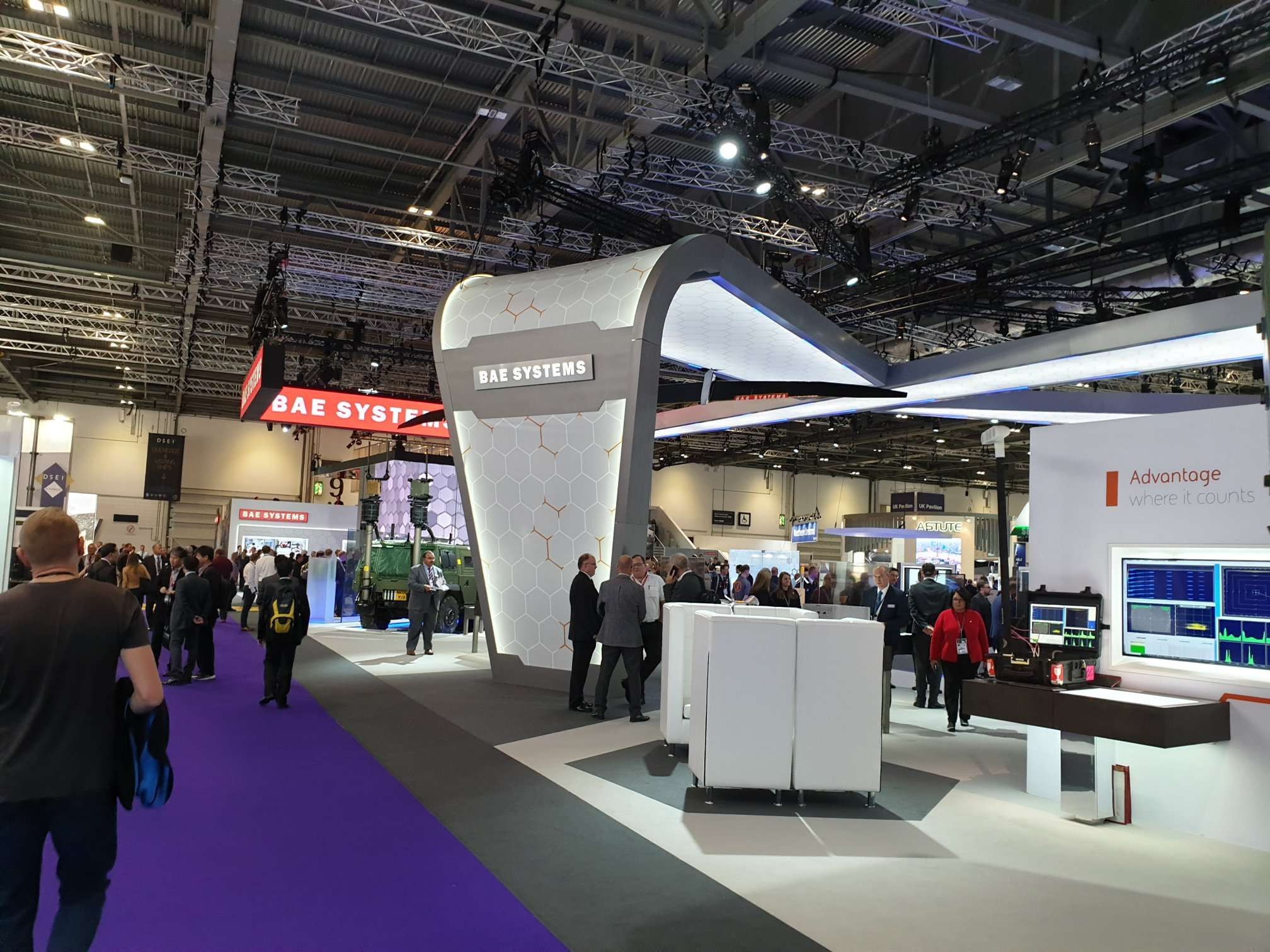 BAE Systems DSEI 2019 London