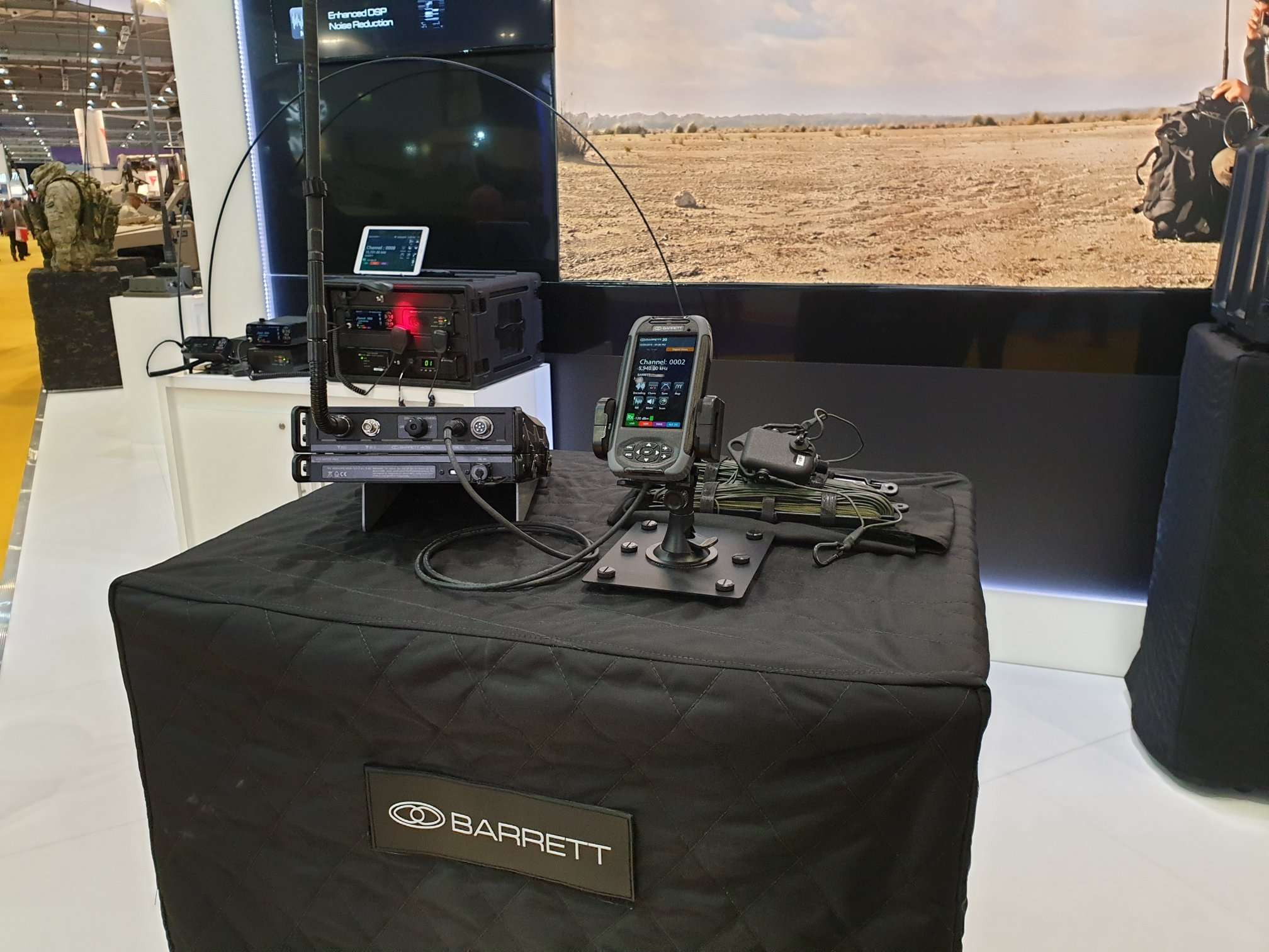 Barrett Communications DSEI 2019 London