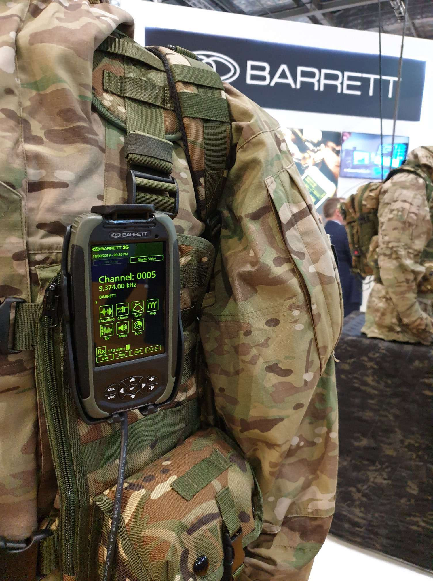 Barrett Communications DSEI 2019 Image 2