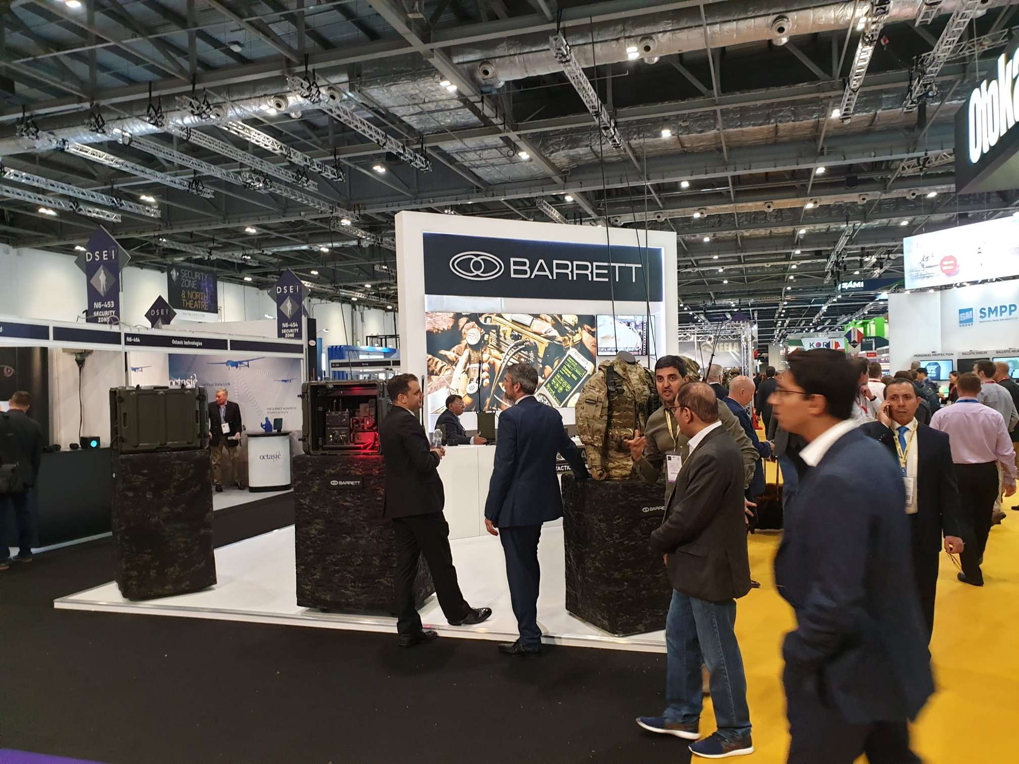 Barrett Communications DSEI 2019 London Image 3