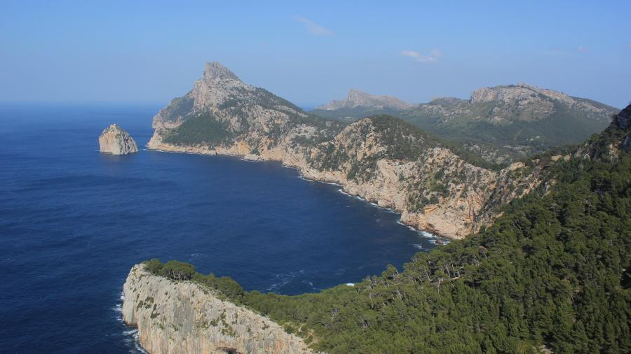 EA6/SM2EKM Mirador Es Colomer, Balearic Islands